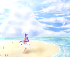 Beach breeze by Minrini