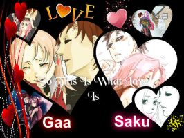 GaaSaku Forever by wow1076
