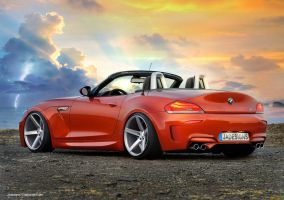 2013 BMW Z4 Cabrio Render by JAdesigns75