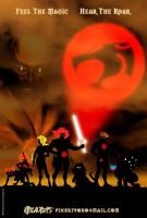 ThunderCats teaser poster by fixer79
