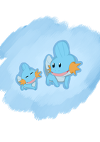 Mudkip by PrincessTabb