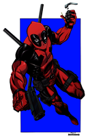 Deadpool by DaveKennedy