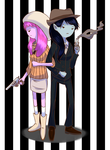 Bonnie and Clyde by Ryuusei924