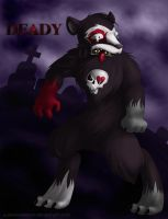 Deady the Bear by albinoshadow