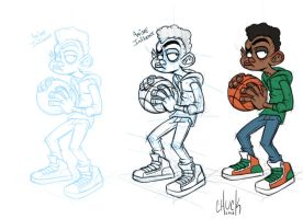Basketball Jones by ChuckDoodles