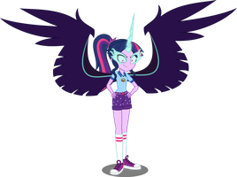 EQG Midnight Twilight by Orin331