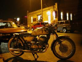 motorcycle-art district-KCMO by Photogenetic