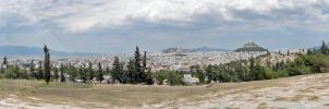 Athens Panorama by AreteEirene
