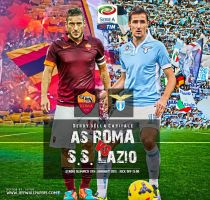 AS ROMA - LAZIO by jafarjeef
