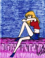 Lonely girl by GG-lover