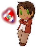 for Miss-Forever-Alone (Costa Rica in Elementa by poi-rozen