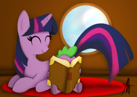 -MLP- Spike's favourite gift by Ardas91