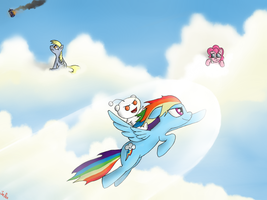 Benders VS Bronies. by Jel0z