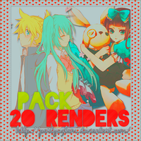 Pack 2O Render's By'~ PartyxGlam by PartyxGlam
