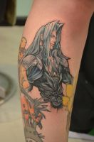 One winged angel by kayleytatts