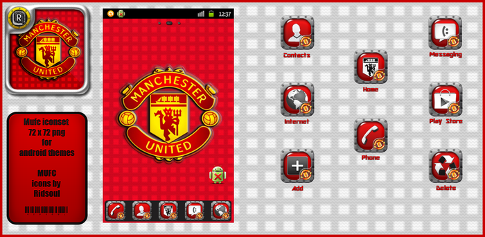 Mufc Icons by ridsoul