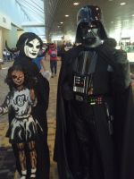 Agitha Tilda And Darth Vader Hanging Out by AgithaTilda