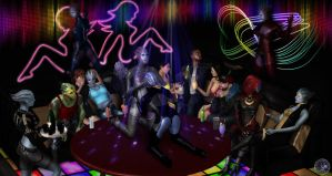 Clubbing by BarbDBarb