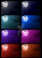 Premade backgrounds I by SynfulEve