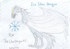 Ice Star Dragon by KunYKA