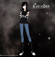 OC: Cee-chan by KhairiLoneliness