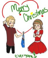 Merry Christmas my Loves :D by CandyAMac