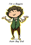 I'm A Baggins by Chere-and-Rose