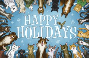 Holiday Vet Card 2013 by mscorley