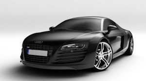 Black Audi R8 by rufflepun