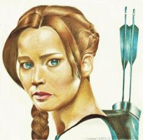 katniss everdeen-CF by rommeldrawlines-12