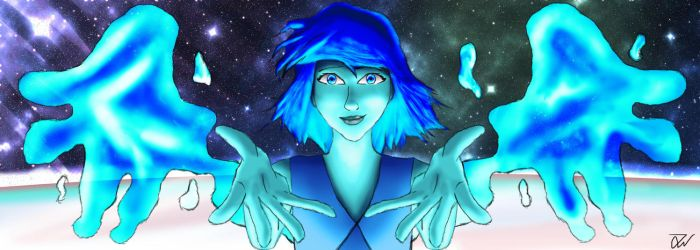 Lapis Lazuli atop the Water Tower by joethejoey