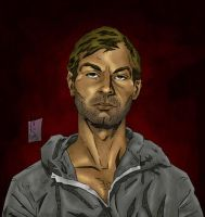 Jeffrey Dahmer - Color by The-Real-NComics