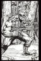 deathblow by mrfussion