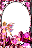 Lav's PNG Frames95_1with fairy of joannastar-stock by Lavandalu
