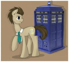 Doctor Whooves by Drawing-Heart