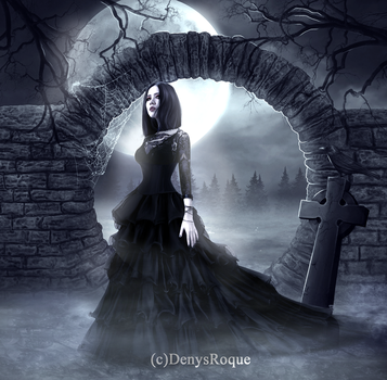 the darkest soul by DenysRoqueDesign