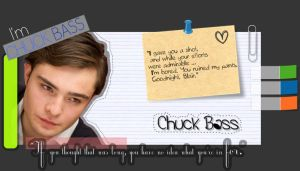 Chuck Bass LOVE by DAJC717