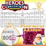 Heroes Con - AA 1830 by Mako-Fufu