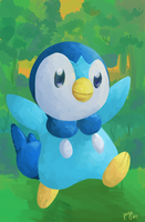 Piplup by Paichii