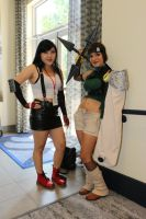 AFO 2015: Tifa and Yuffie by pgw-Chaos