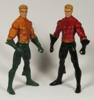 Aquaman Brightest day/Flash Point by BLACKPLAGUE1348