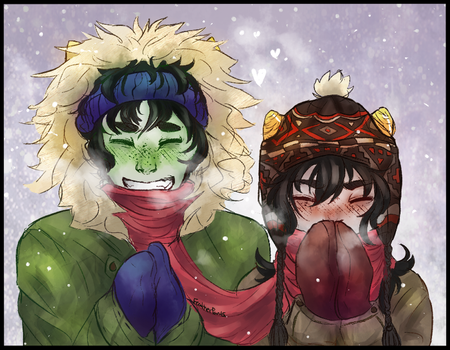 Baby, it's cold outside by FeatherPants
