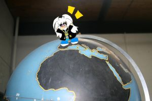 Bakura Takes Over The Globe by lizabey