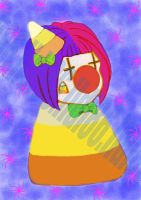 Candy Clown Corn by Pumpkin-Queen-Ildi