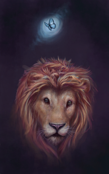 Lion - The Once and Future King by MaddiOrchard
