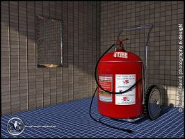 Fire extinguisher by msk11