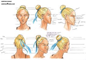 character sheets: heads 2 by Ignifero