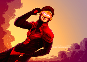 PF : Scott Summers by greggileano