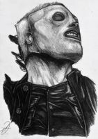 corey taylor portrait slipknot by darkartistdomain