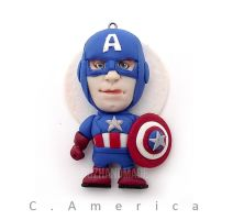 AVENGERS - Cpt. America - CLAY SCULPTURES by buzhandmade